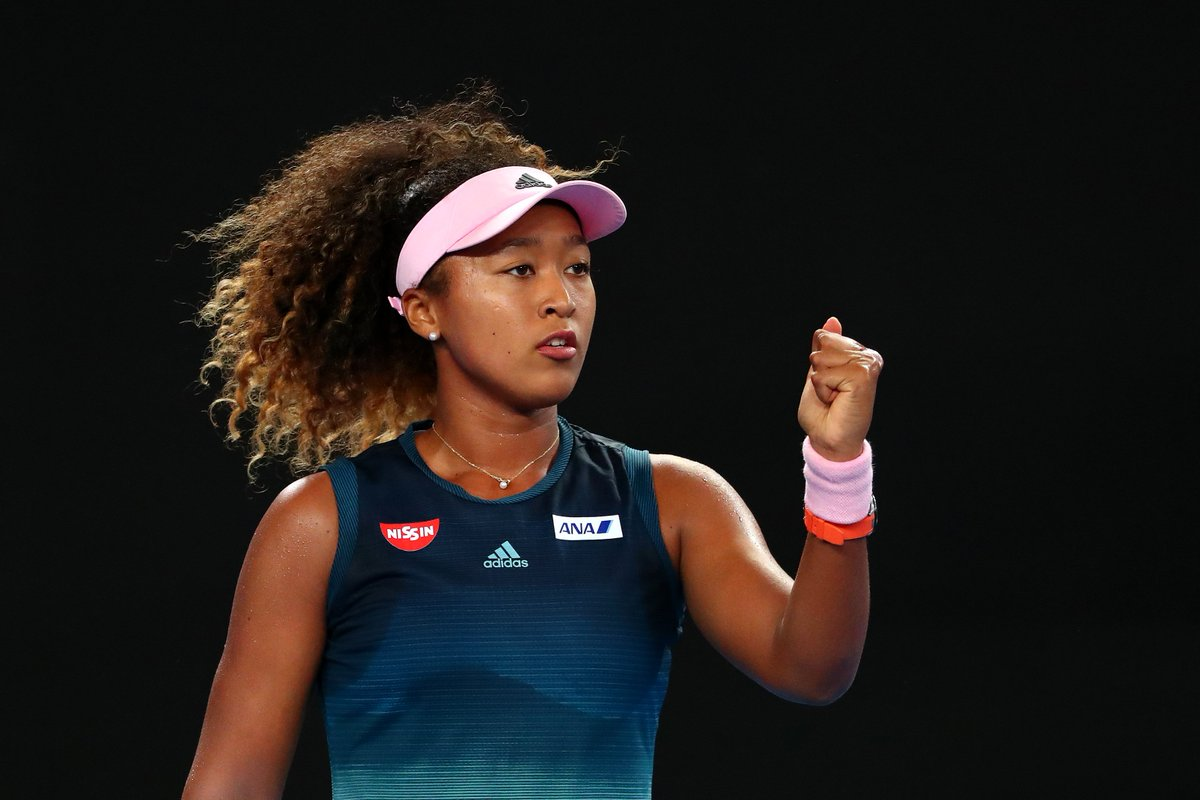 Tested, but wins in straight sets   No.4 seed @Naomi_Osaka_ def. Tamara Zidansek 6-2 6-4, to advance to the #AusOpen  3R for the third time. <br>http://pic.twitter.com/BnXGWw2wmw