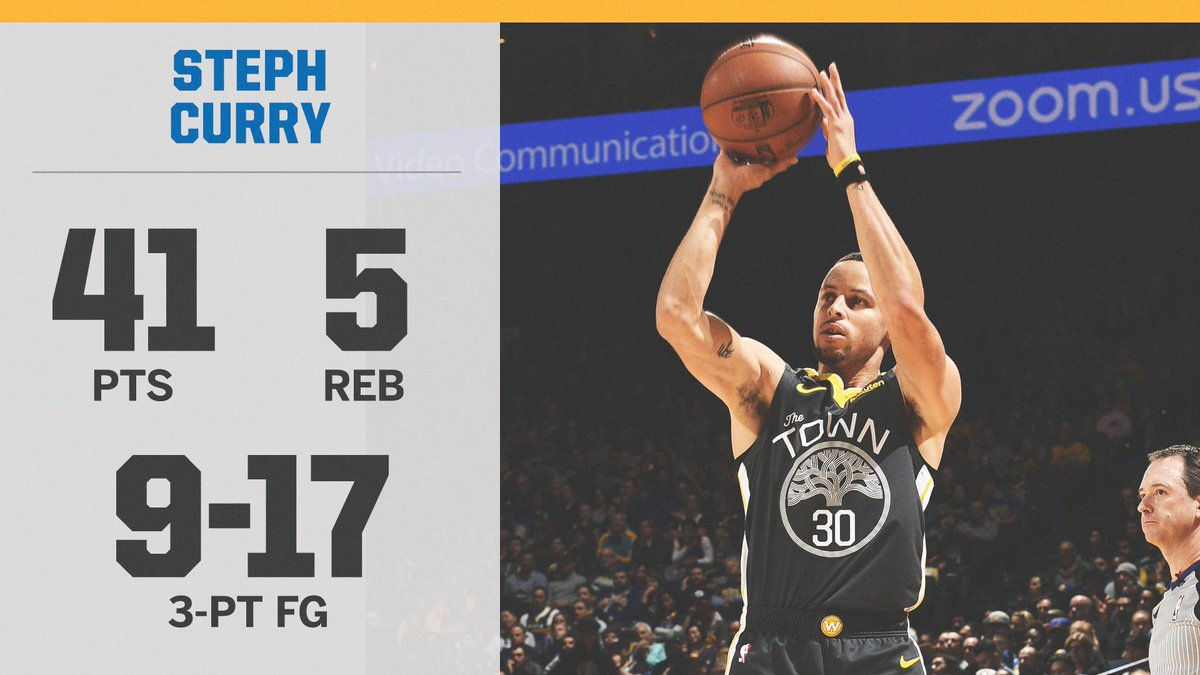 Steph Curry is the first player in NBA history to make 8 threes in 3 straight games.