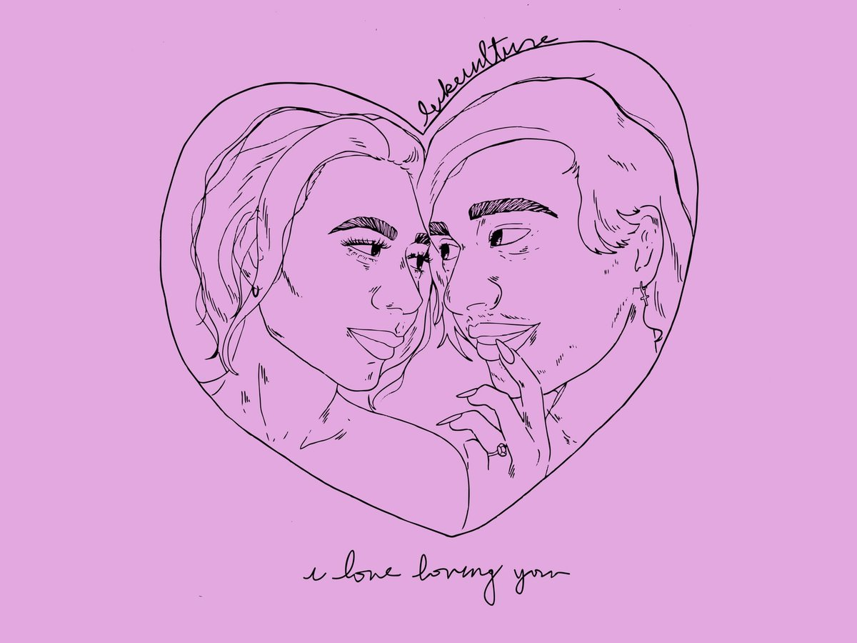 """""""i love loving you"""" ♡.ೃ༄✧ congratulations @crystalleigh + @Michael5SOS u deserve the world!<br>http://pic.twitter.com/DBlAp3pgeX"""