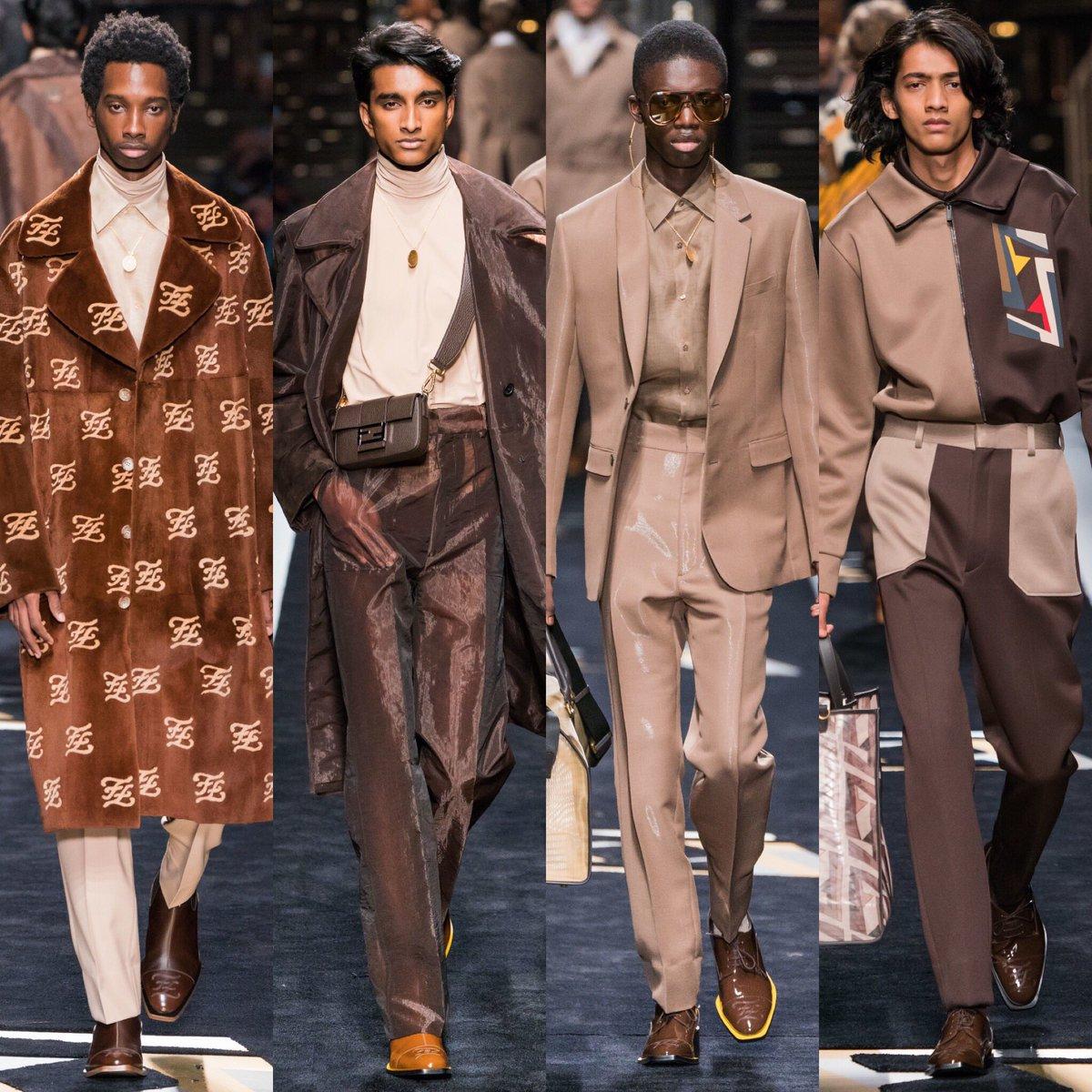 Fendi Fall 2019 Menswear Collection 🧡