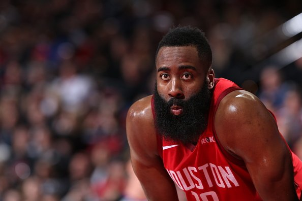 The Rockets' 35 3-pt FG attempts in the first half vs the Nets set an NBA record for most 3-pt FG attempts in a half.  They made 10 of those 35 attempts, and made 10 of their 14 2-pt attempts.