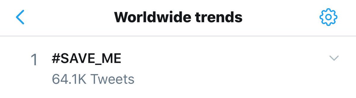 #SAVE_ME trends #1 worldwide following @BTS_twt HYYH (BU) webtoon online / in-app release as part of @Smeraldo_Books.<br>http://pic.twitter.com/X083xC2Yg9