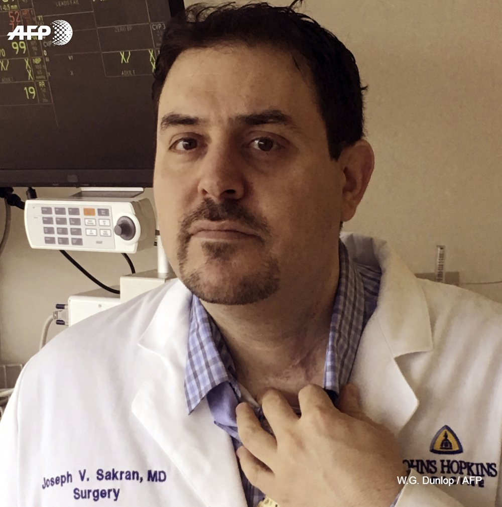 A shooting victim who became a surgeon is taking aim at gun violence in the US, pushing back against the NRA's assertion that medical professionals have no place in the debate https://t.co/zuOwNcXaXU @AFP