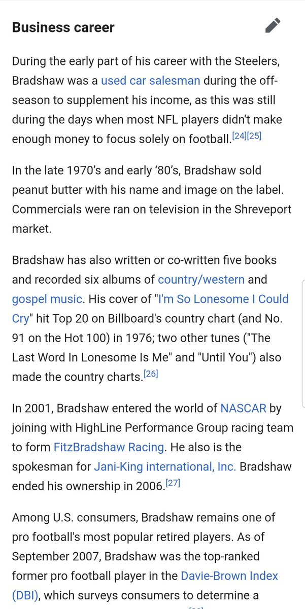 If you still need MORE evidence that it is Bradshaw (you are more clueless than the judges), but here you go. He sold used cars. He also put out a few albums. It&#39;s not Peyton Manning, come on y&#39;all. #TheMaskedSinger <br>http://pic.twitter.com/eQw4mOLSsT