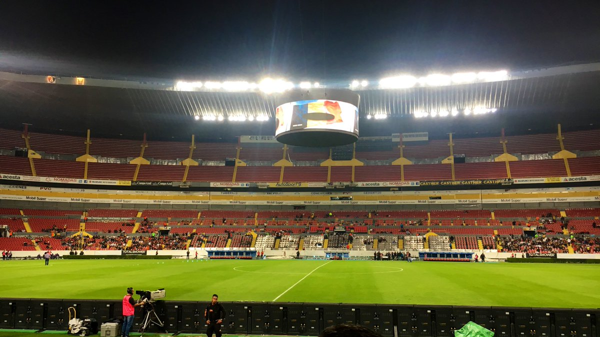 Fredy Cobijas's photo on Estadio Jalisco