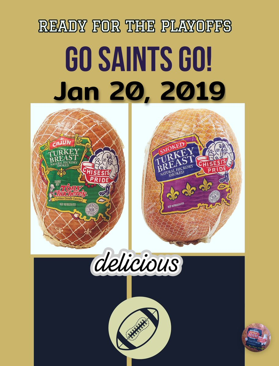 Ideas for sandwiches for the big game? Try our new turkey products. #GAMEDAY #delish #NFLPlayoffs #Saints #neworleansbest #neworleansfood