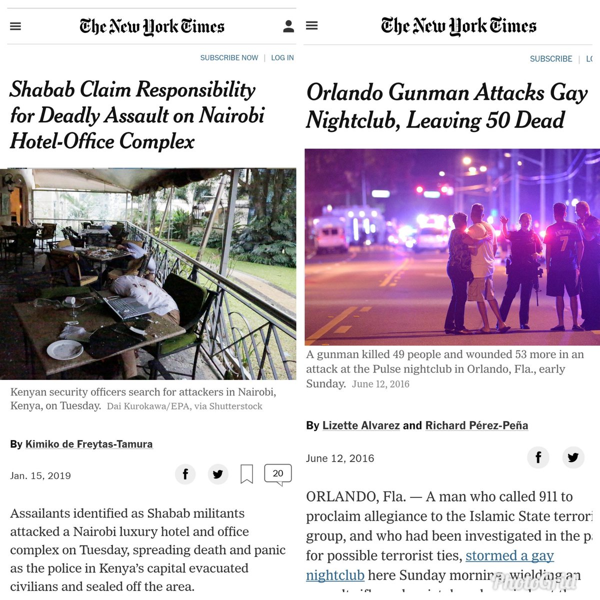 The choice of image is difficult to balance what kind of idiocy is this .Kindly circulate your press statements between yourselves.#NYTimes #RiversideAttack<br>http://pic.twitter.com/OdgjzcYnUa