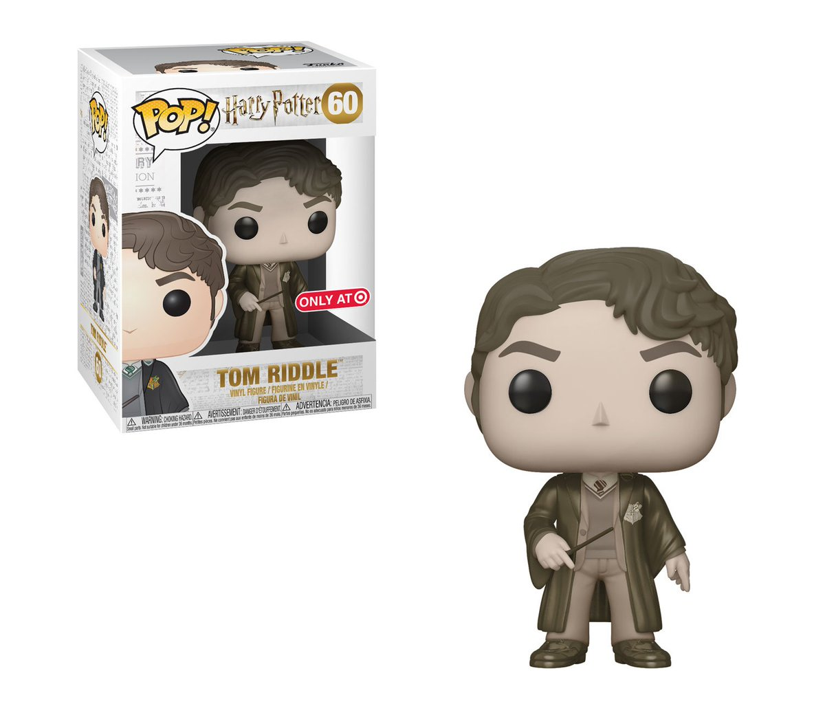 RT & follow @OriginalFunko for a chance to WIN a @Target exclusive Tom Riddle Pop!