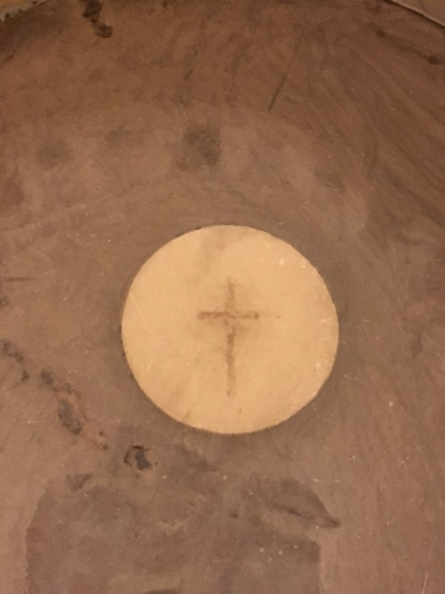 A cross is now visible on the center circle on the floor of the US Capitol Rotunda