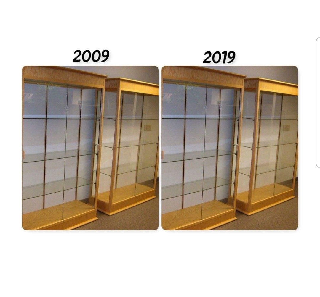 Derby county trophy cabinet #10yearchallenge #NFFC <br>http://pic.twitter.com/aMPbczaGiG