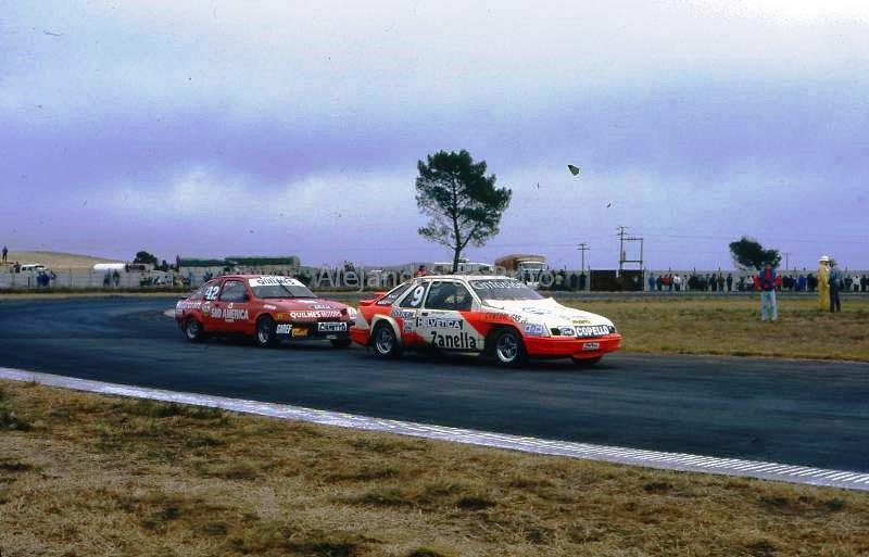 Luis Ruben Di Palma y Gerardo Del Campo, Ford Sierra TC-2000