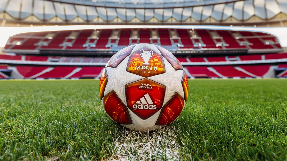 Here it is! 😍  ⚽️ @adidasfootball's official #UCL match ball for the knockout stages!   #DareToCreate
