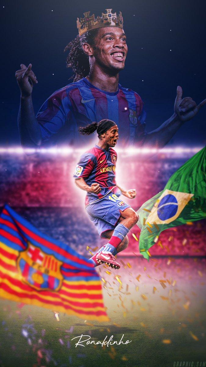 Graphicsam On Twitter Ronaldinho Wallpaper Retweets Greatly Appreciated Fcbarcelona Barca Viscabarca