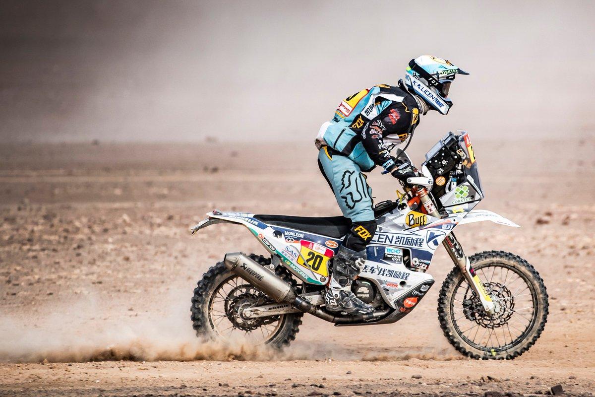 What doesn&#39;t kill you, makes you stronger #Dakar2020 there we go!! #Dakar2019 #RallyDakar #RallyDakar2019<br>http://pic.twitter.com/tuLbMqIsGZ