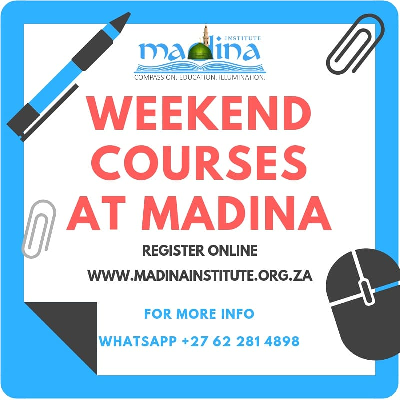 Madina Institute South Africa on Twitter: