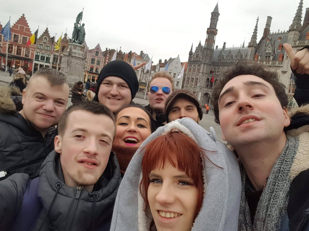 test Twitter Media - Team Belfast enjoying a day of chocolate and sightseeing in Bruges with new friends from Croatia and Finland #yeswearein #digitalcitizenship #artsmatterni @UniAtypical @ArtsCouncilNI @BCouncil_NI @niexecutive @belfastcc @CommunitiesNI https://t.co/Ar4h6uKN3j