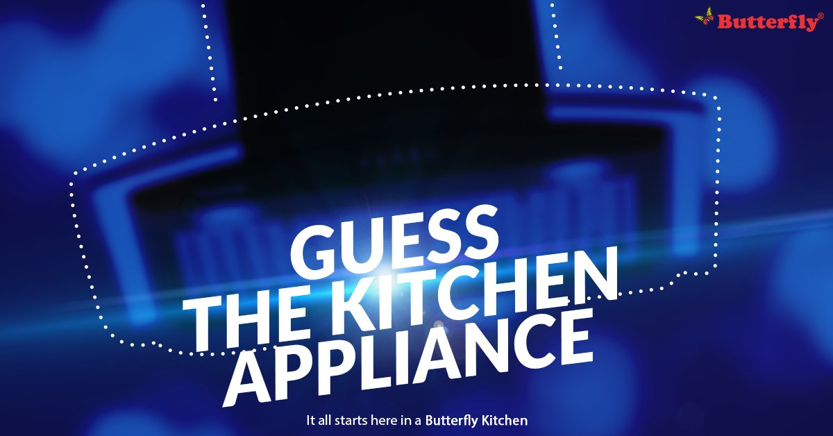 Butterfly Kitchen Appliances On Twitter Can You Guess The