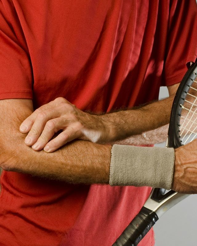 """""""Tennis elbow"""" 🎾is a common term for a condition by overuse of arm, forearm, and hand muscles that results in #elbow pain. You don't have to play tennis toget it, but the term came into use because it can be a significant problem forsome #tennis … http://bit.ly/2QWfTpI"""