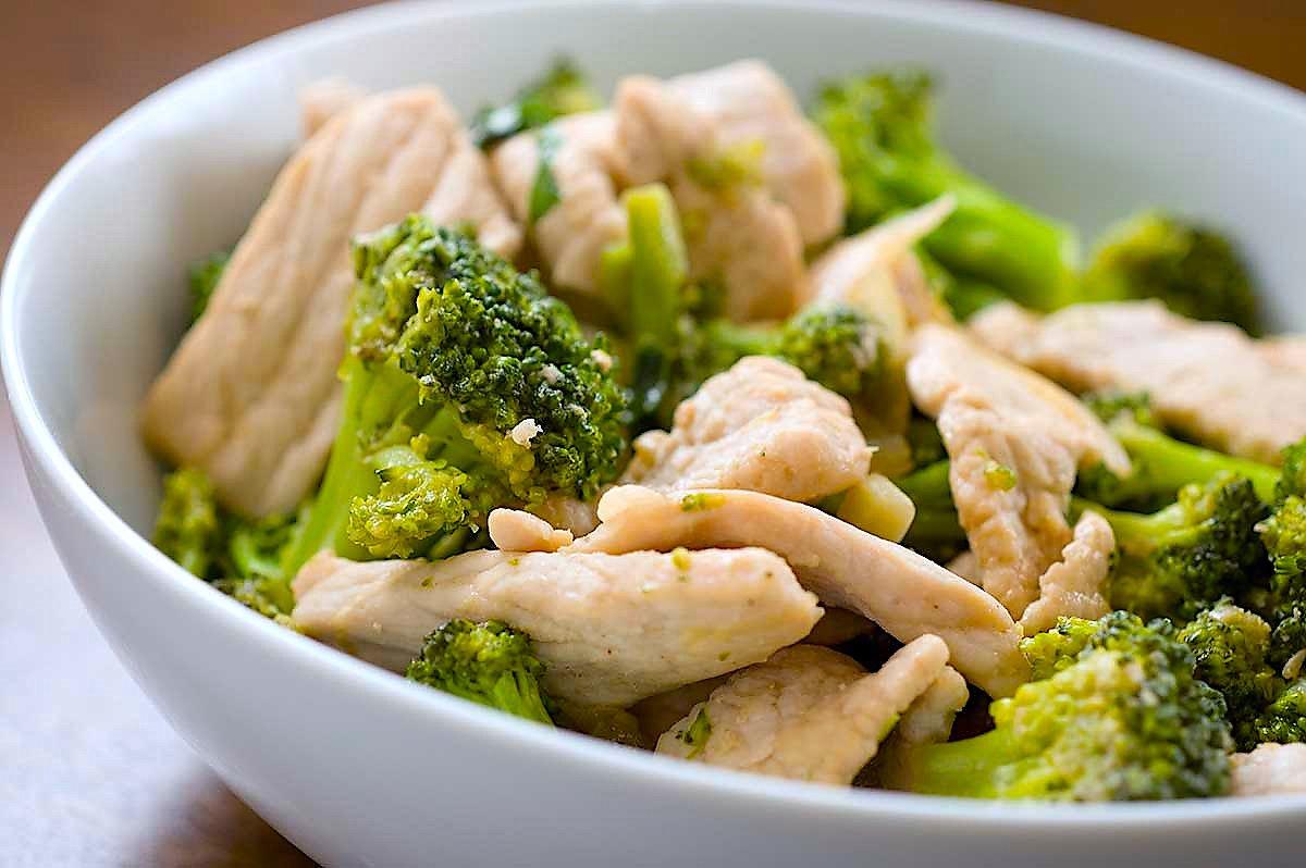 диета куриная и овощная