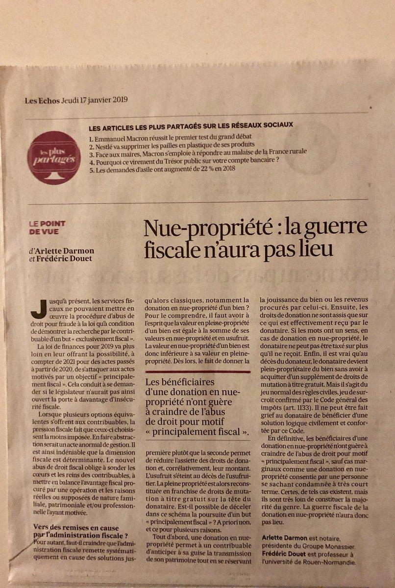 Frederic Douet On Twitter Abus De Droit Pour Motif Principalement
