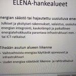 Image for the Tweet beginning: #Elena-rahoitusta saatavilla #energiatehokkuus'en tai kestävän