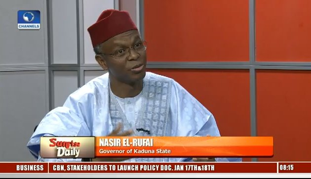 &quot;If South West Governors had met and said Kemi Adeosun Must not go... If North East Governors had met and said Babachir Lawal must not go... Now South East/South South Governors were issuing a statement on CJN&quot;....... @elrufai on @sunrisedailynow dropping wisdom like honey!<br>http://pic.twitter.com/PVUSqveH6A