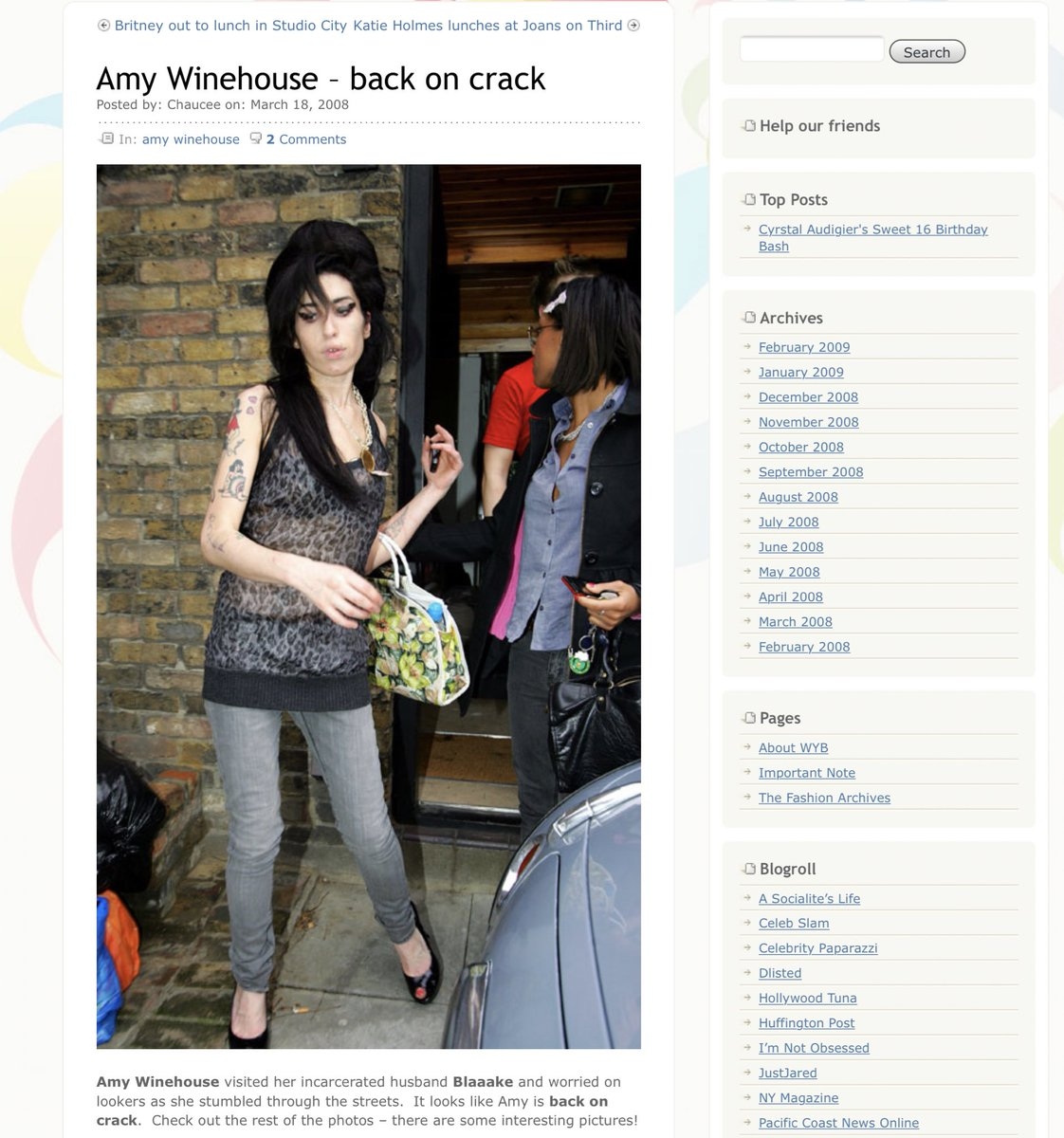 Amy winehouse the grubby looking demin line coming soon new pictures