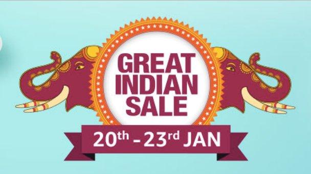 Amazon Great Indian Festival slated for 20-23 January 2019 https://t.co/GqSKwJjn5g