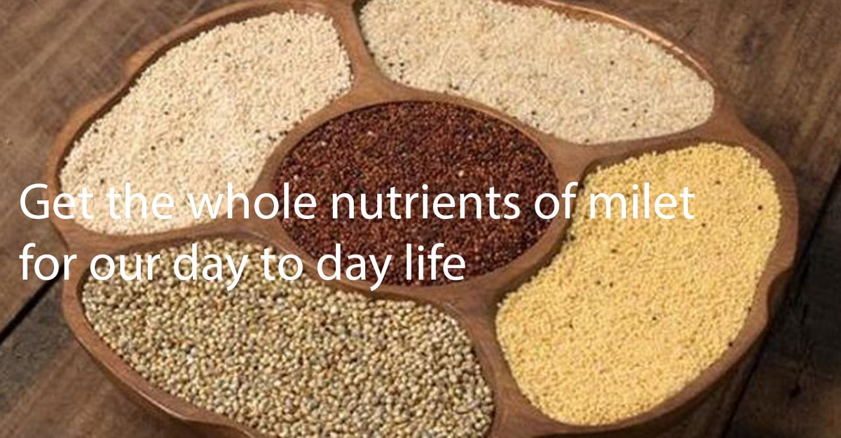 ✶Today's maker✶  Today, I will introduce Anbu Exports. This company deals with millets which are highly nutritious. https://musuvi-wtm.com/maker-search/anbu-exports/…  #MWTM #India #calcium #nutrition