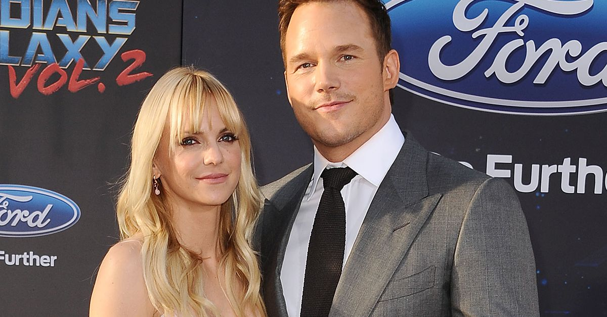 Could you be friends with your ex, just like anna faris