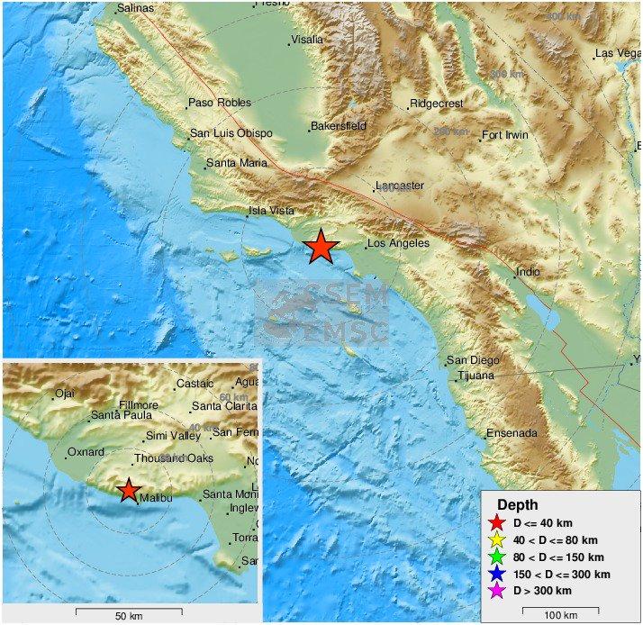 Felt #earthquake (#sismo) M2.8 strikes 12 km S of Thousand Oaks (#California) 3 min ago. Please report to:  https://t.co/XMnY86lhkp