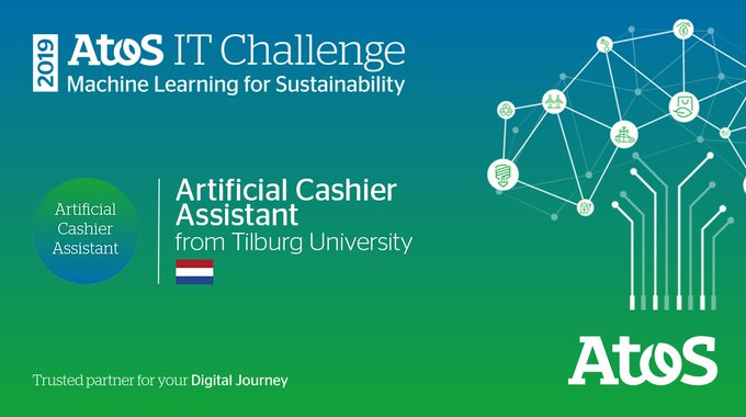 We're now in the development phase of @AtosITChallenge. Artificial Cashier Assistant from...