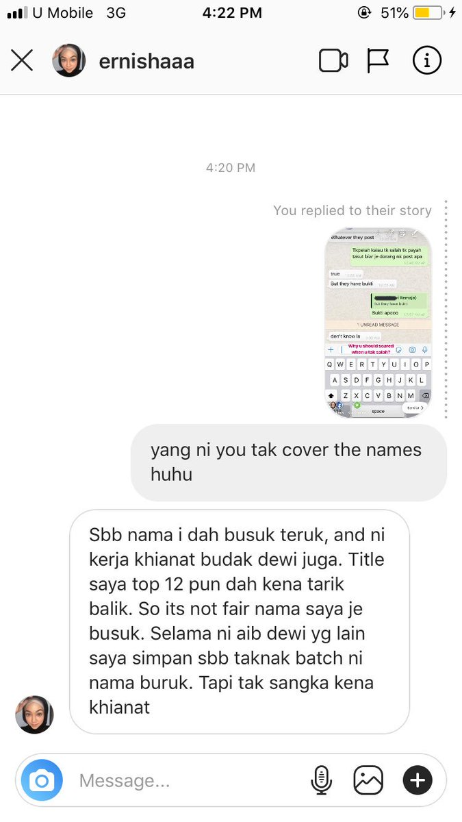 Goodluck Dewi Remaja to cover up your names 😉I guess something will happen and we'll see. 😟