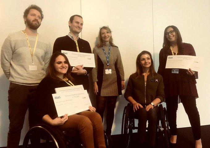 Atos premia cuatro proyectos de emprendedores con #discapacidad - via @EFEemprende https://t.co/...