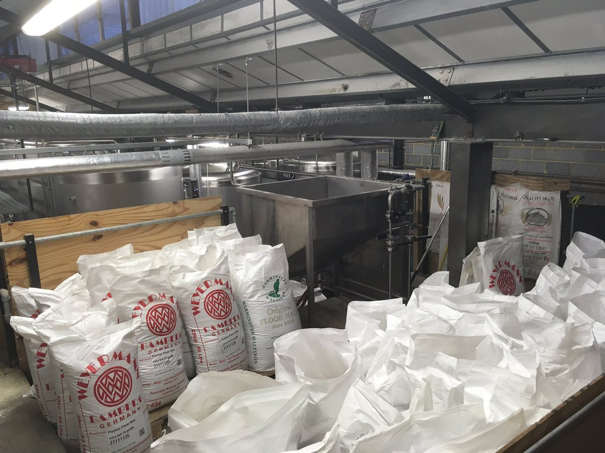 Image for Big old mash @GipsyHillBrew today! https://t.co/RGJSWKQT3G