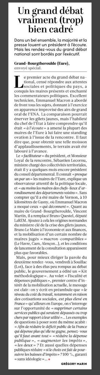 Donc Jean-Claude Dassier n'est pas au courant de la manip de #Macron à #Bourgtheroulde ???  #HDPRO #hdpros