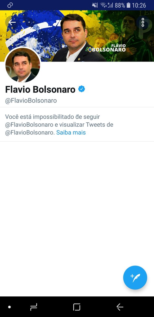 Leandro Ramos's photo on Flávio Bolsonaro
