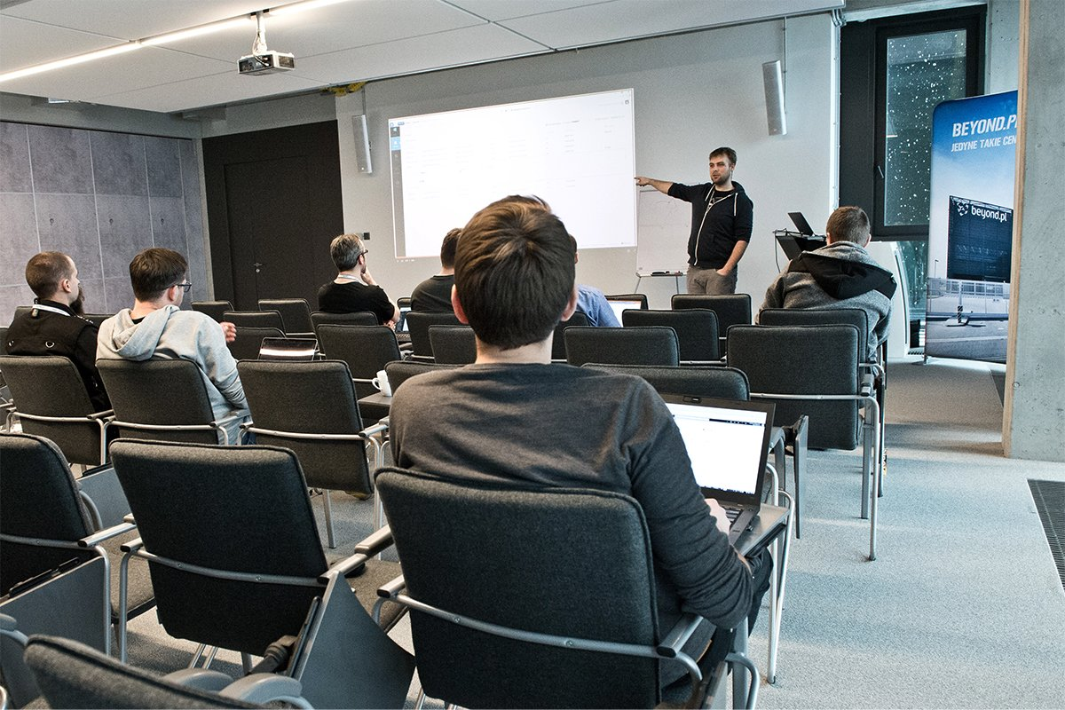 Yesterday we started the first meeting of an internal educational project named https://t.co/nbuh2zVFbl knowledge transfer. The theme of the workshop was Microsoft Azure platform.  #employerbranding #workshops #education #knowledgetransfer #Microsoft #Azure #AzureStack #beyondpl https://t.co/D7gzRKmYPJ