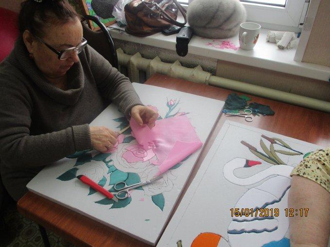 #mspno Текстильная мозайка Пэчворк. Фото