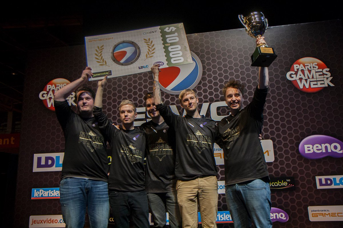 #TBThursday The teams 🇸🇪 @NiPGaming and 🇺🇸 @UBINITED won in 2012 the first Counter-Strike:Global Offensive tournaments organized by #ESWC during @ParisGamesWeek 🏆