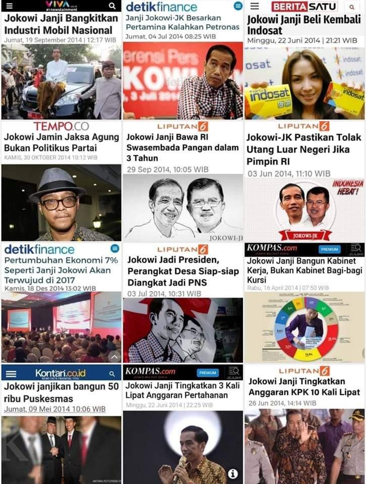 Ada yang sudah ditepati ? #IndonesiaMenang
