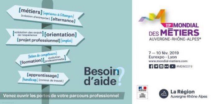 🔜🗓 Connaissez-vous les métiers de l'#industrie #nucléaire ? Le 08/02, retrouvez Start People au Mondial des métiers à #Lyon. L'occasion d'oublier vos stéréotypes et d'échanger avec des professionnels sur ce secteur qui recrute. RDV stand D12 ! https://t.co/Ixo7KTzLAA #MDM2019 https://t.co/CaFrytcELI
