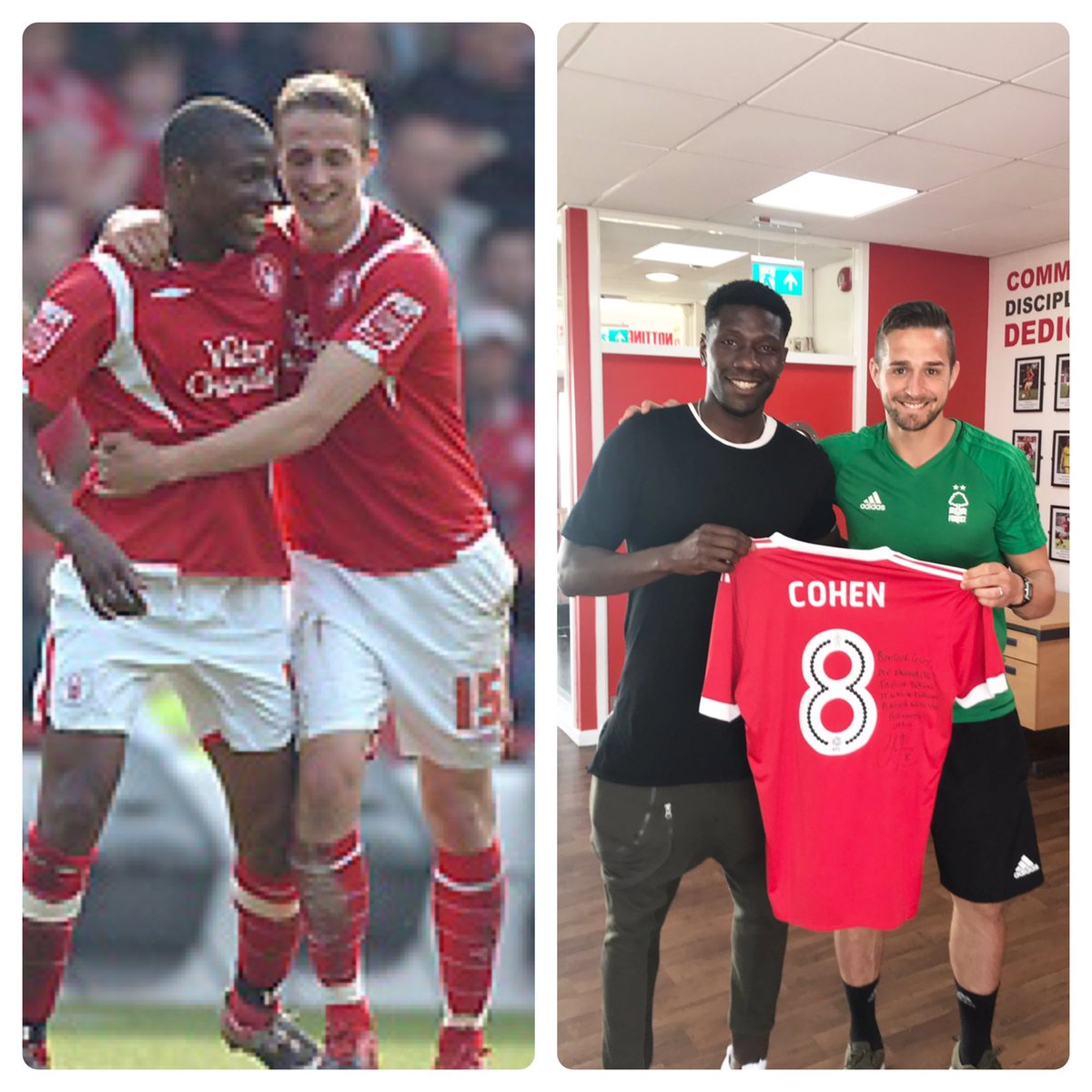 How about that #10YearsChallenge???  #Nffc Youuuuu Redsssss  <br>http://pic.twitter.com/bQYTdNf4Wl