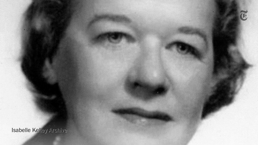 At a time when many thousands of poor families in the United States went to bed hungry, a little-known economist in the agriculture department helped change all that. Meet Isabelle Kelley, this week's remarkable woman in the Overlooked obits series. https://nyti.ms/2DdiAzA