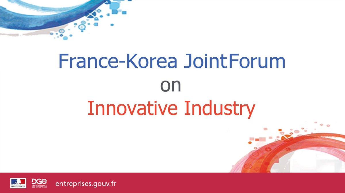 Image for the Tweet beginning: 🗣️ [5e Forum France-Corée des