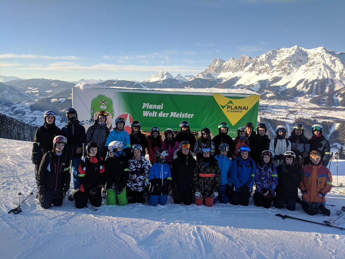 That's it for the Austria Ski Trip 2019.  All safe.  We've had every condition -  blizzards to sparkling sunshine.  But most of all it has been a real pleasure to spend a week with this smashing group of young people.