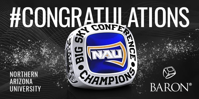 #ThrowBackThursday Congratulations to the Men of @NAUTrackFieldXC - 2018 Big Sky Conference Champions! Foto