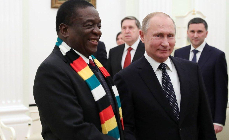 Globetrotting Mnangagwa Sneers At 'Dreamers' Miffed By His Jaunts: https://t.co/TThKi81FBY #Zimbabwe