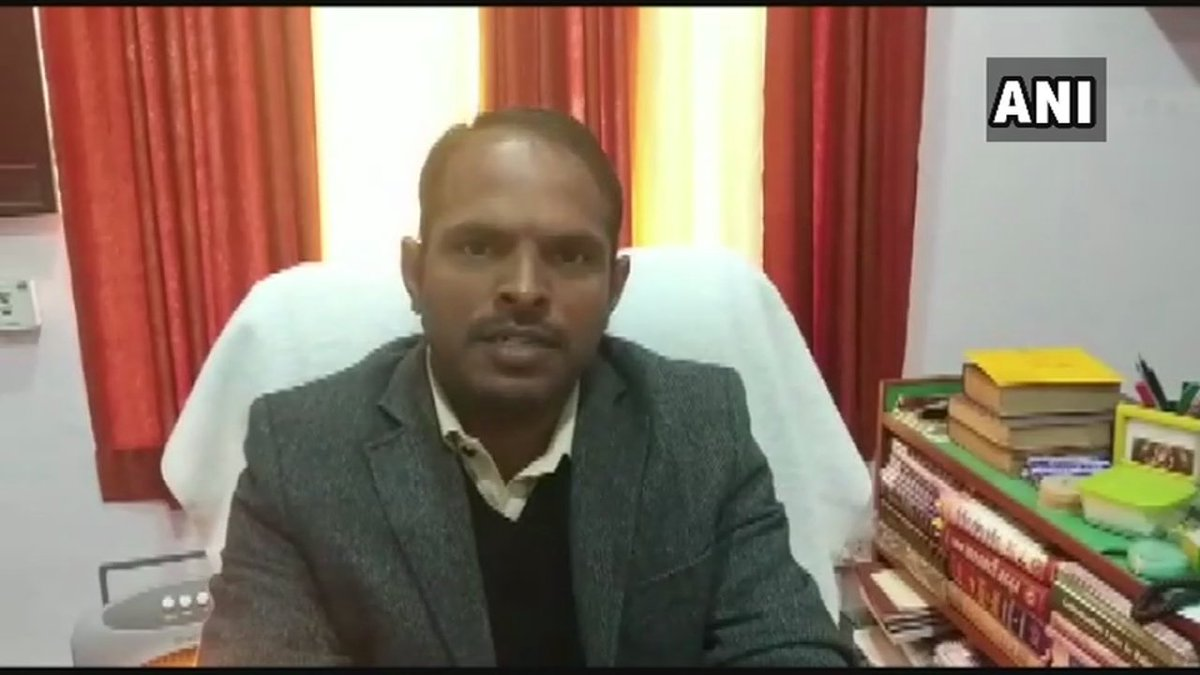 #Rajasthan : SDM Bhadra says, I have taken cognizance of the incident. The matter will be investigated thoroughly. If a govt employee is found involved in the incident, strict action will be taken.