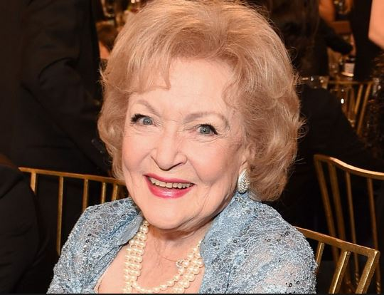 How about some 'likes' for the timeless #BettyWhite. She turns 97 today!! God Bless her. #weloveyouBetty #HappyBirthdayBetty